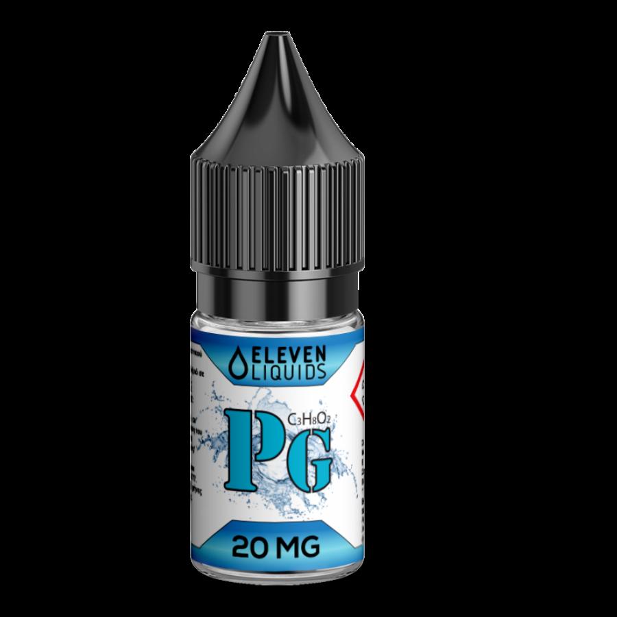 Elevenliquids Nicotine Booster 20mg Προπυλενογλυκόλη (PG) 10ml