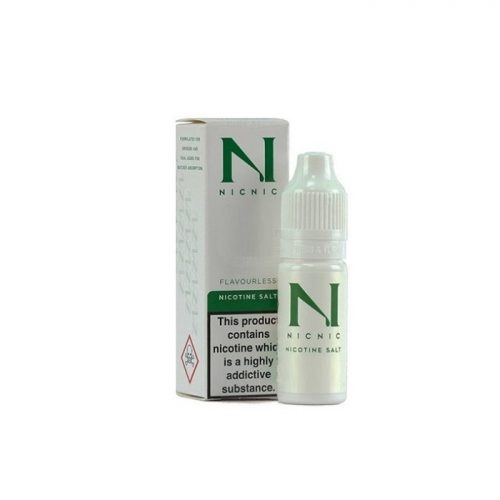 NicNic VG/PG Nicotine Salt Booster 18mg 10ml 50-50