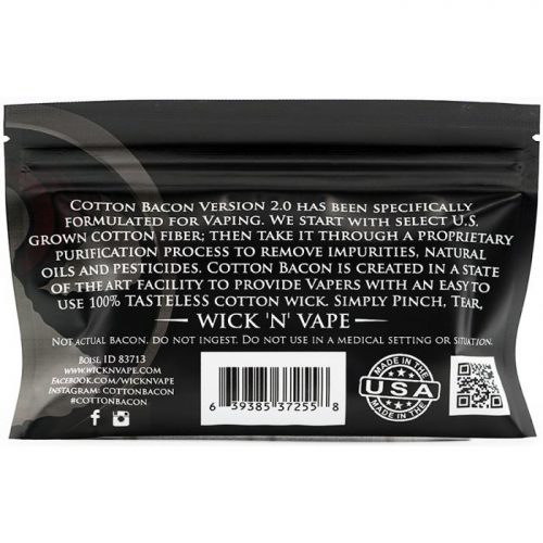 wicknvape cotton bacon v2