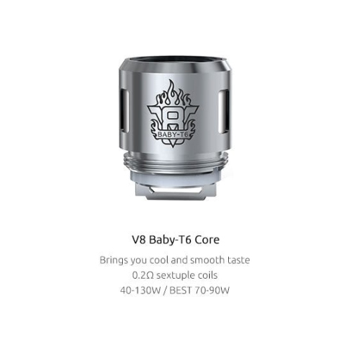 Smok TFV8 Baby T6 0.2Ohm