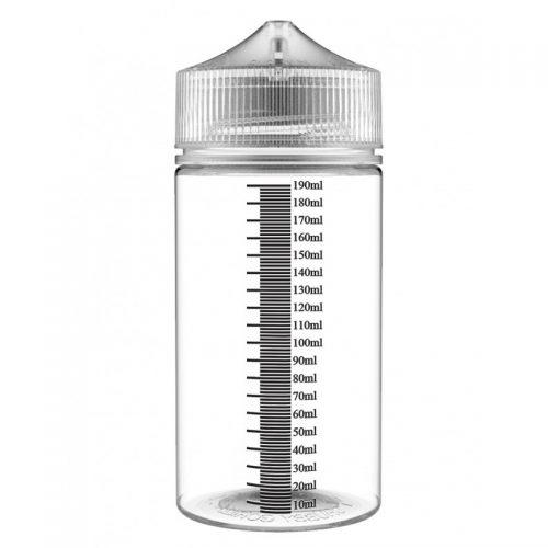 Chubby Gorilla Bottle V3 200ml Clear Unicorn Natural Cap με διαγράμμιση