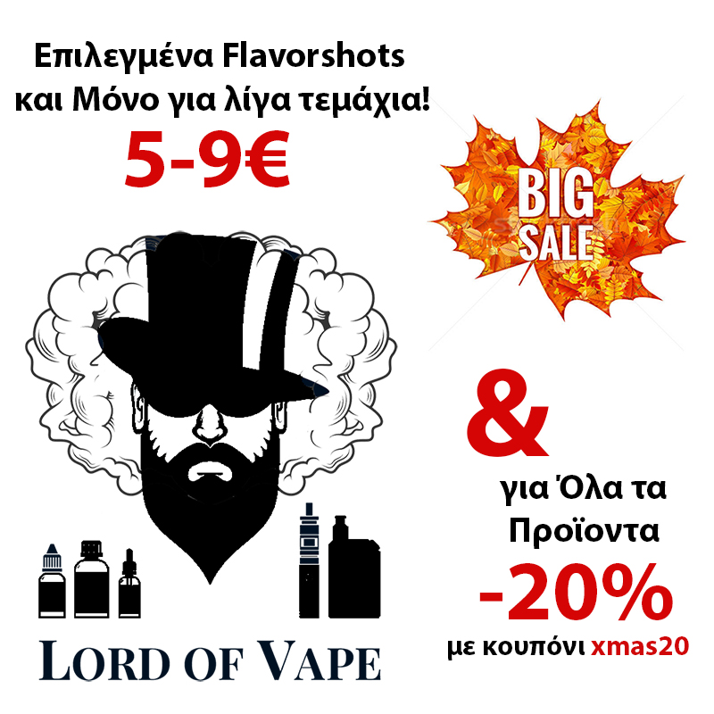 Big Sale FlavorShots Offer