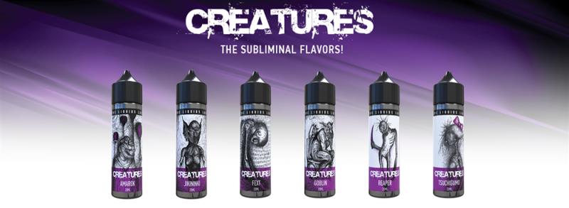 Creatures FlavorShots 60ml