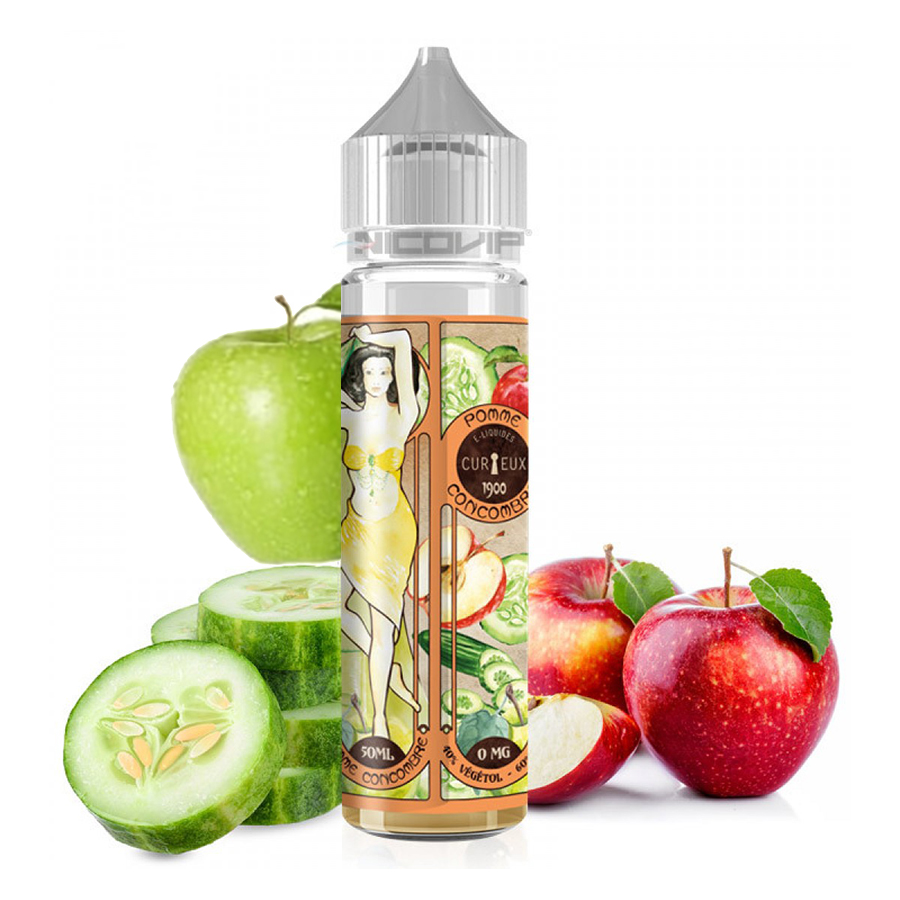 Curieux Flavour Shot Pomme Concombre